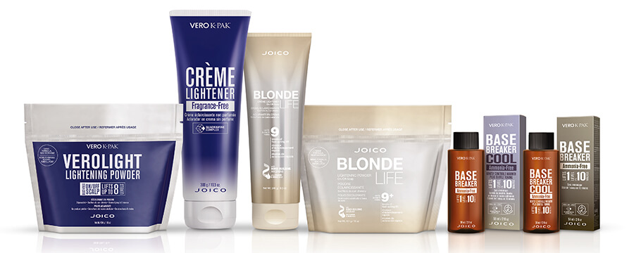 Joico Lighteners packaging