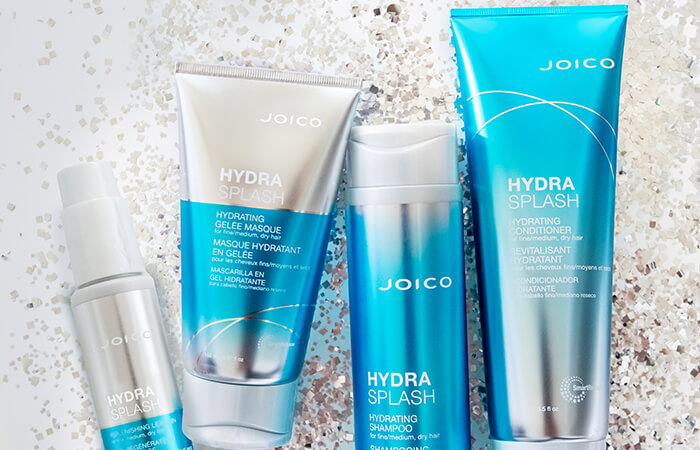 Joico HydraSplash bottles