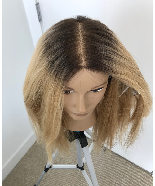 Mannequin with dark roots