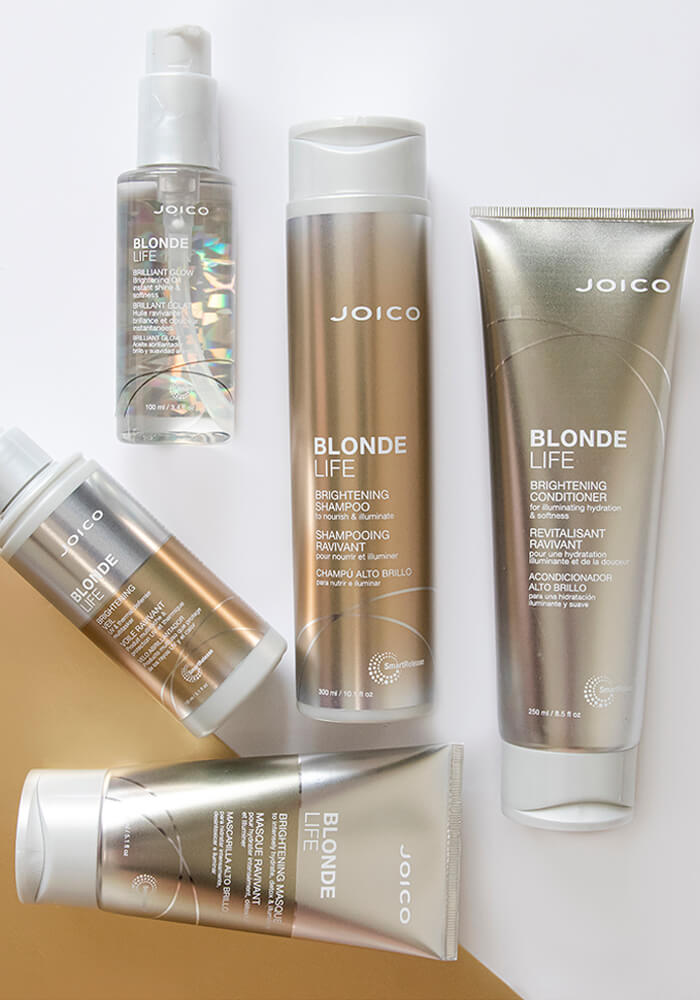 Joico Blonde Life bottles
