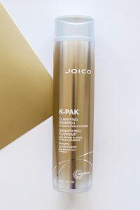 K-PAK Claryfing Shampoo bottle