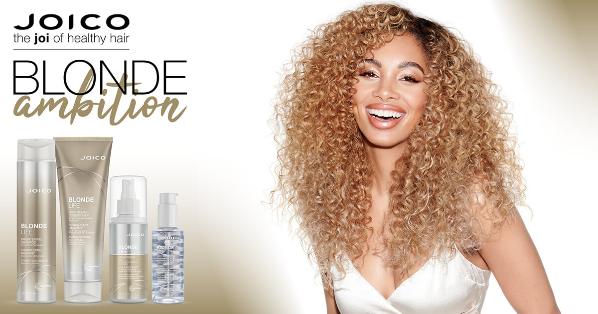 Joico Blonde Life products