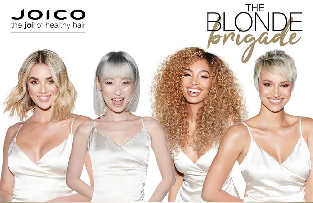 Joico Blonde Life models
