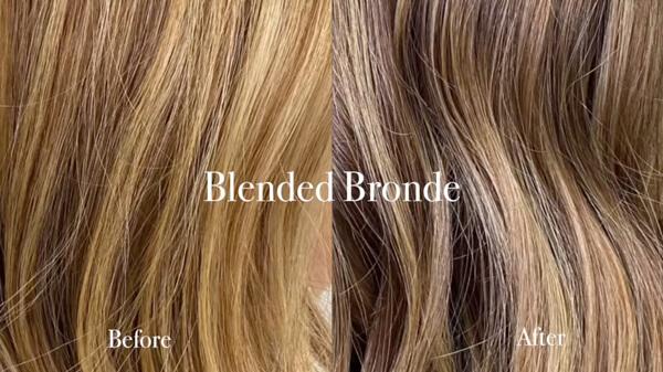 Blonde Hair Swatch
