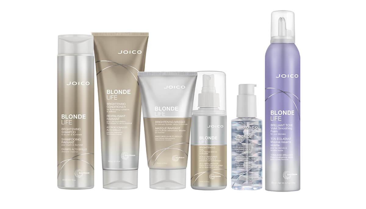 Joico Blonde Life care bottles