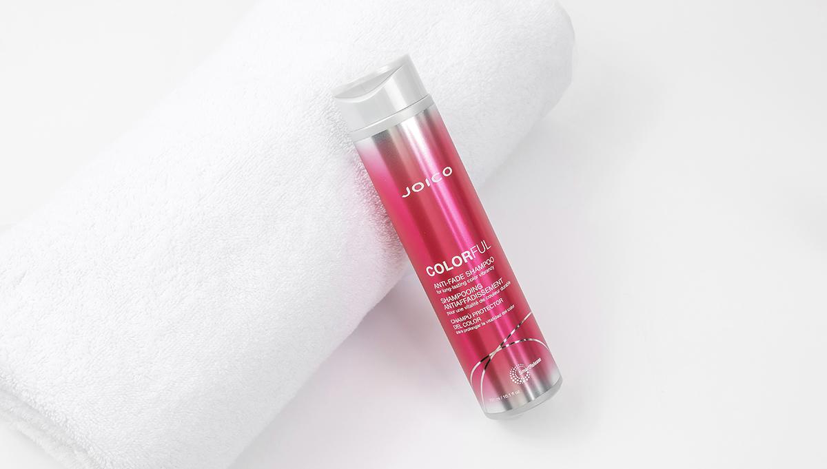 Joico Colorful shampoo bottle