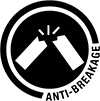 anti breakage symbol