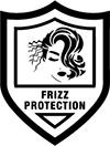 frizz protection badge