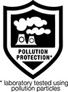 pollution protection badge